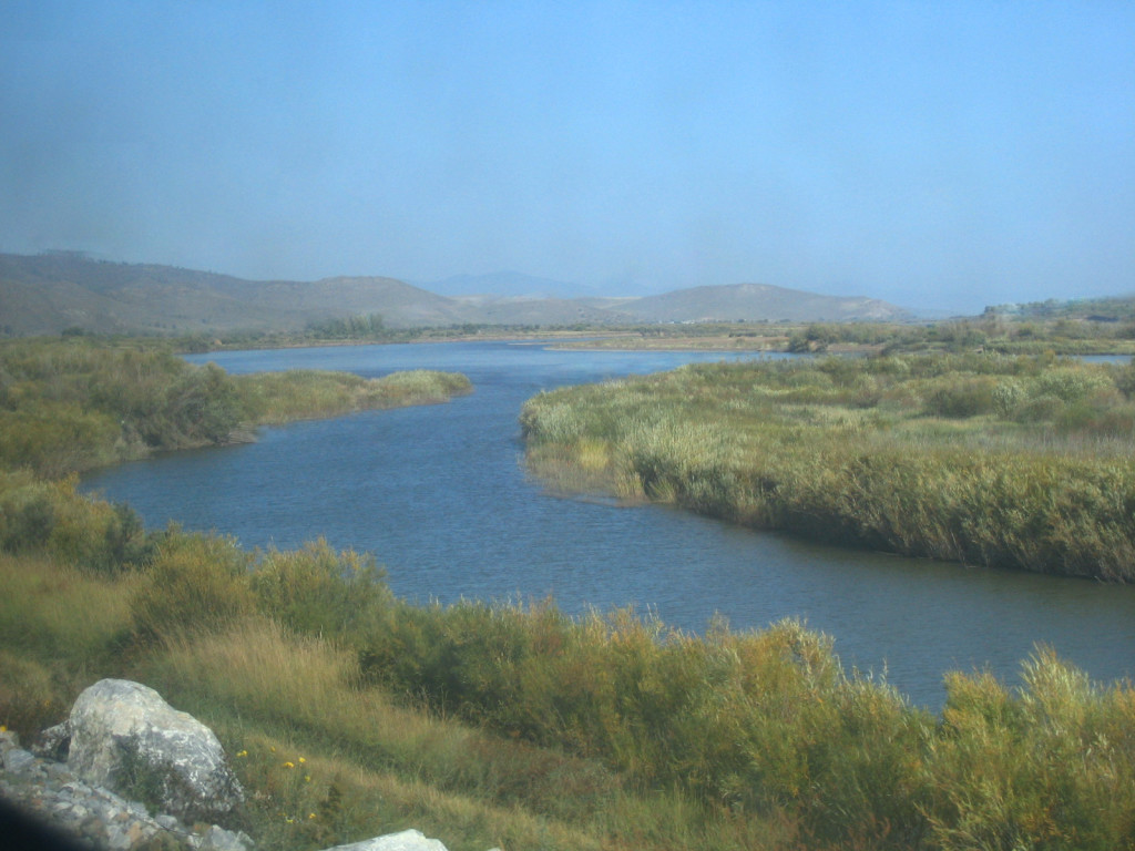 views from the train when you travel the Trans-Mongolian Railway