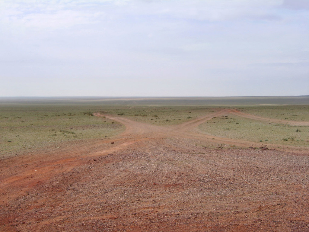 The roads are one of the things to experience in Mongolia