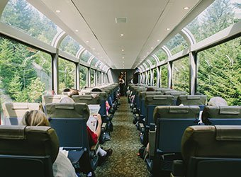 epic train journeys of the world- rocky mountaineer