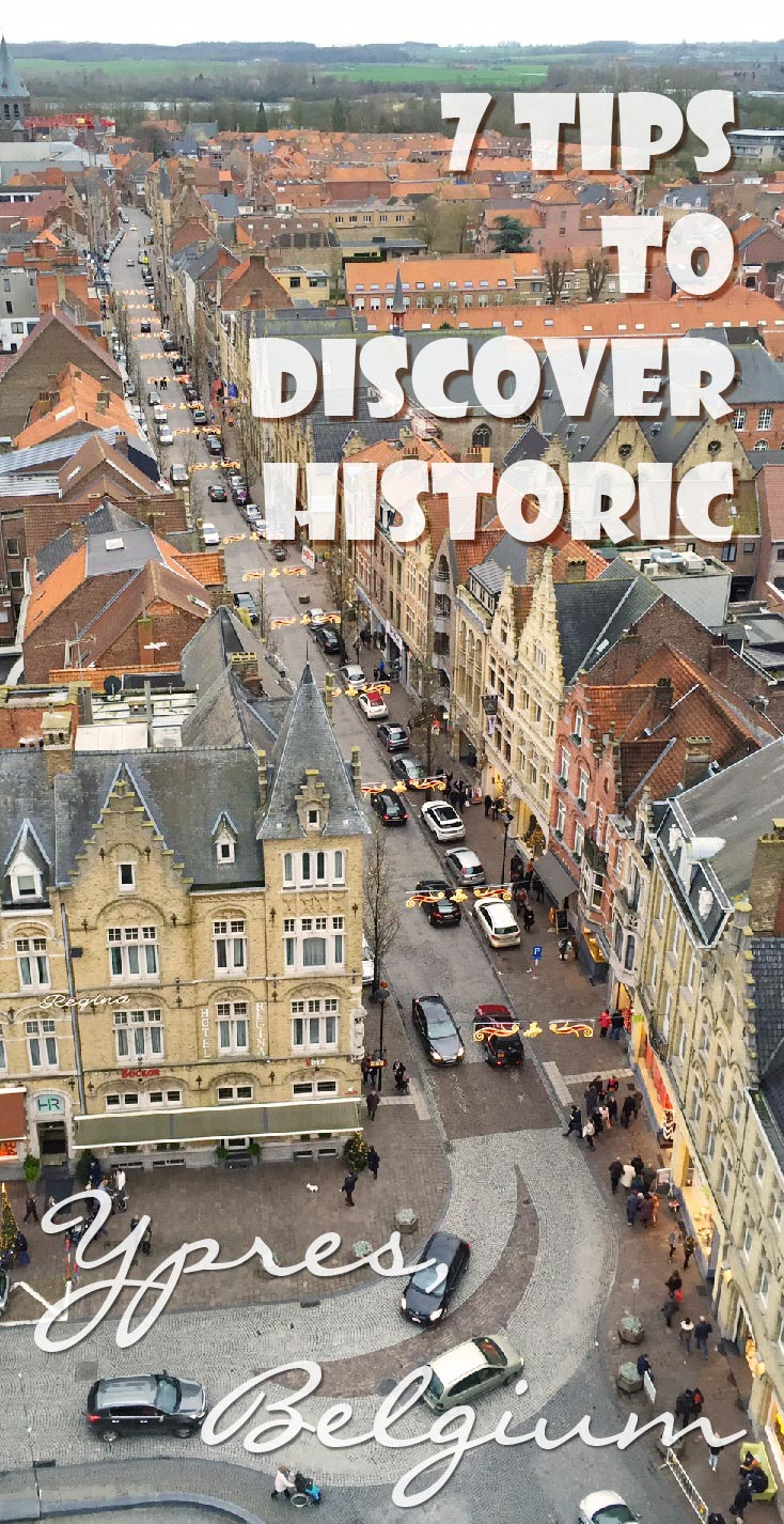 The city Ypres is know for it's fierce battles during WWI but it has much more to offer. I give you 7 tips to discover historic Ypres.