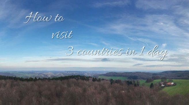 Short on time? Visit 3 countries in 1 day