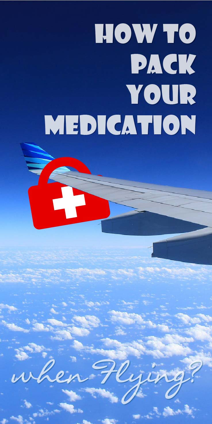 Do you have Crohn's disease too? Or another chronic illness? Like to travel and need to fly?  How to pack your medication when flying?  I did some research and together with my previous experiences, I came up with a list of 6 tips on how to pack your medication when flying.