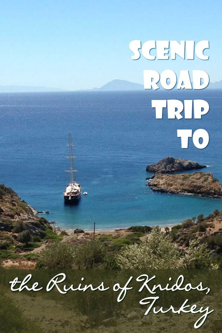 If you plan a beach holiday near Marmaris in Turkey, don't miss out on the most scenic road trip to the Ruins of Knidos at the Datça Peninsula.