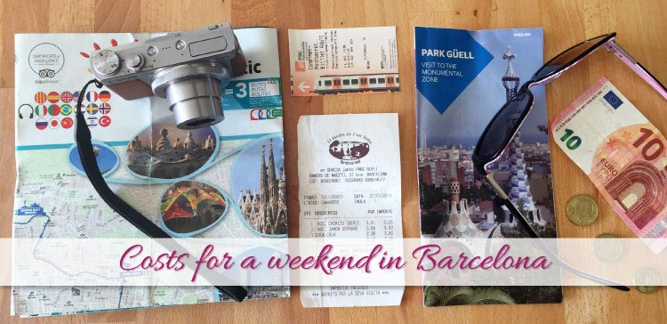 For our trip to Barcelona I set a travel budget. I kept track of our expenses and I share our costs for a weekend in Barcelona so you can learn from it.