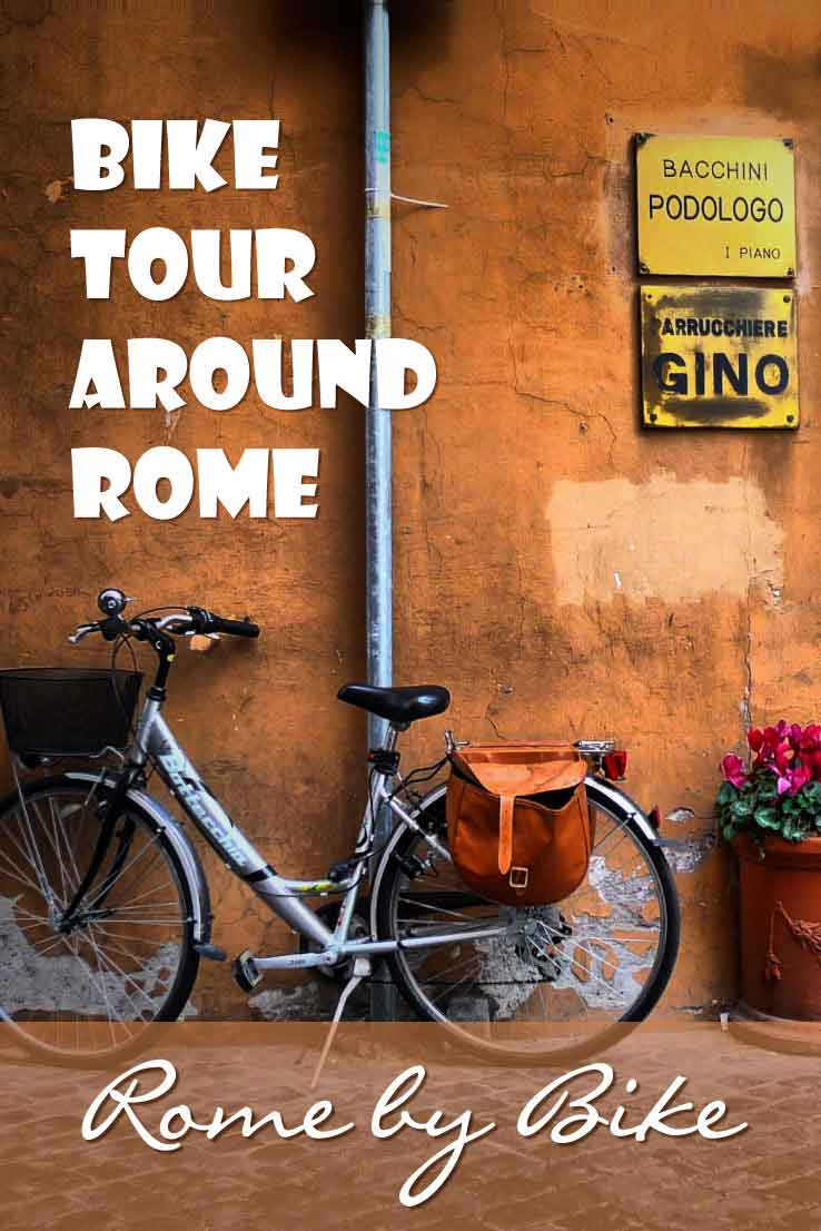 A bike tour around Rome gives you the opportunity to see the city of Rome from a different perspective. Explore Rome by bike is a great way to discover Rome.