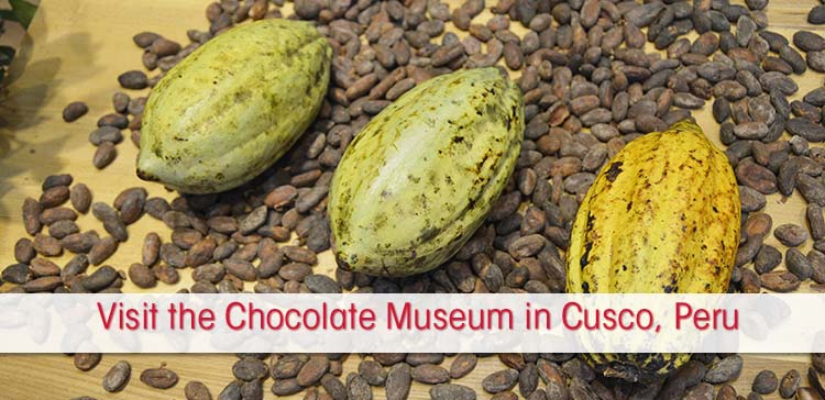 The most delightful Cusco museum is the Chocolate Museum in Cusco. Learn about chocolate and do the chocolate workshop in Peru at the Choco Museum Cusco