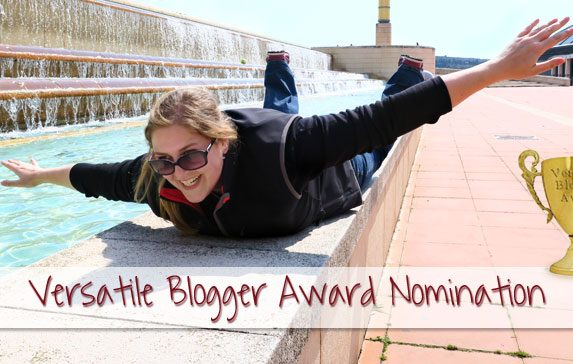 Versatile Blogger Award Nomination