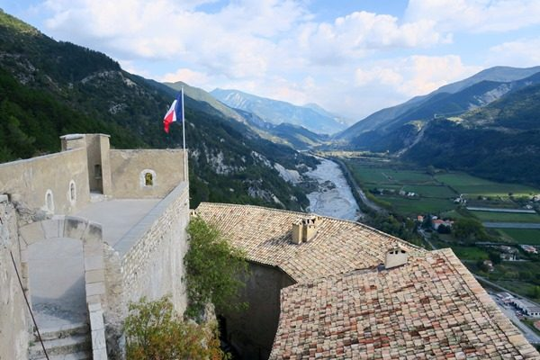 The train des Pignes is an amazing day trip from Nice, France. You can take the steam train and explore the medieval town of Entrevaux or Tende.