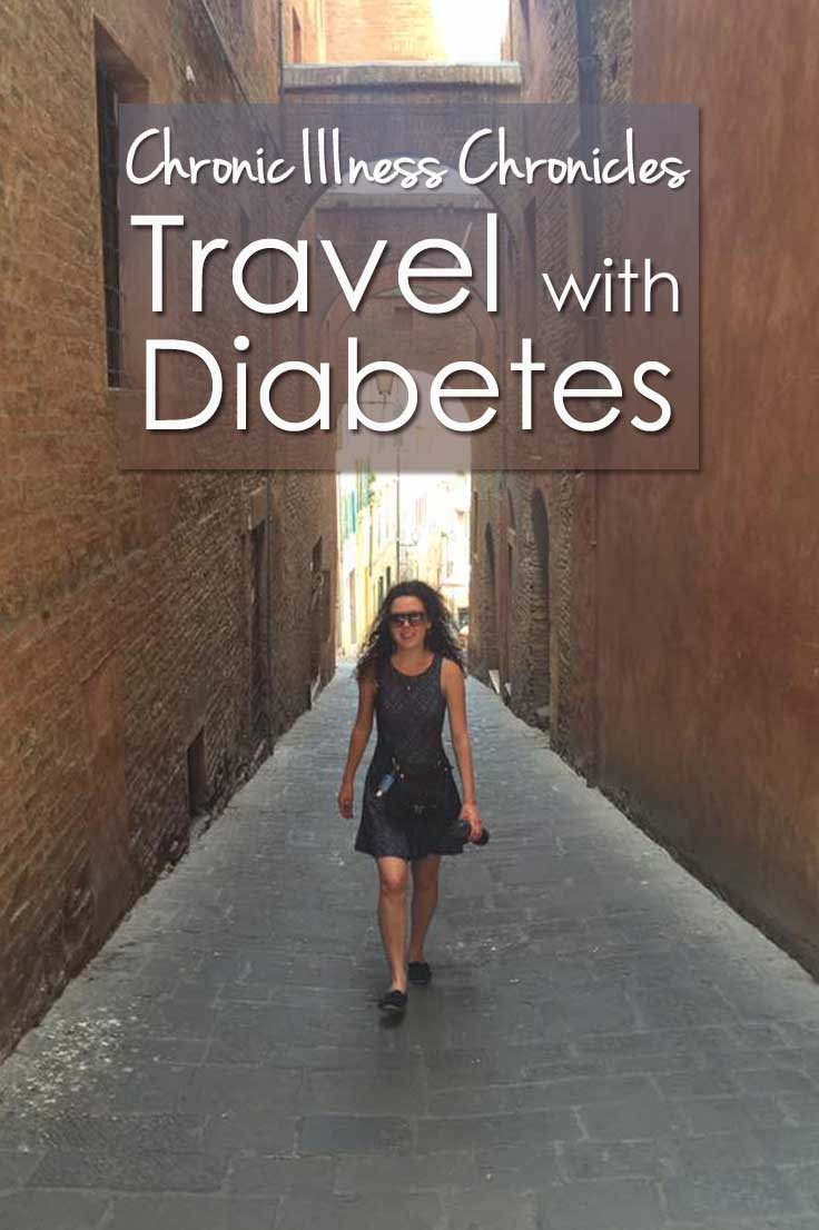 For my Chronic Illness Chronicles guestblogger Crystal shares her story on travel with Diabetes Type 1 and what to pack when you travel with diabetes