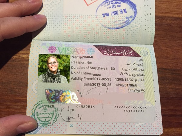 How to get your Iran visa on arrival at Tehran airport. My Iranian Visa