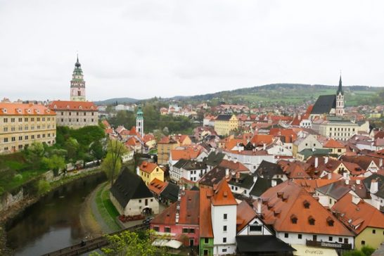 Day trip from Prague – Train to Cesky Krumlov