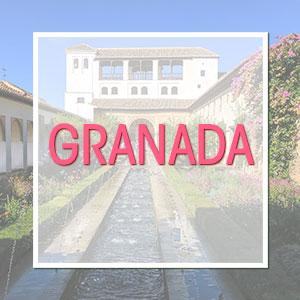 Travel to Granada, Spain
