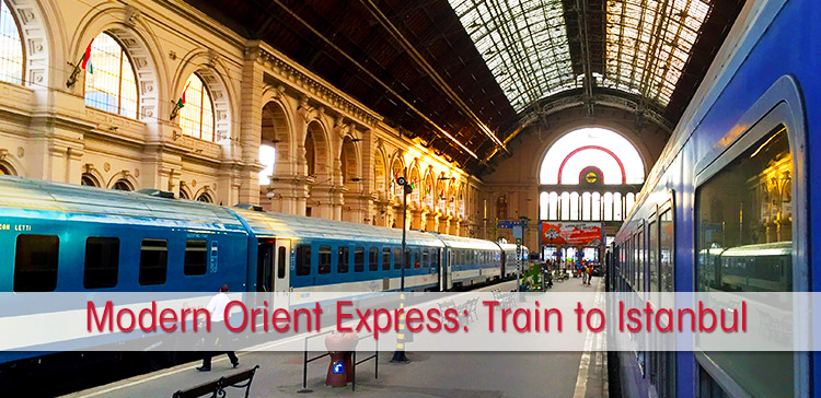 Experience the modern Orient Express. I travelled by train from the Netherlands to Istanbul Turkey to follow this famous train route across Europe.