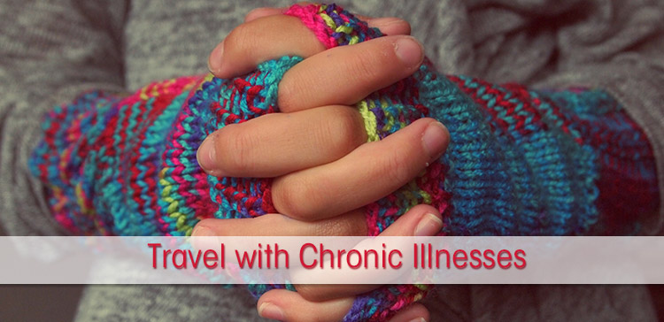I interviewed Lindsay from the Neverending Wanderlust about her travel with chronic illnesses: what is it like to travel with UCTD? Travel with Raynaud's Syndrome and travel with Fibromyalgia?
