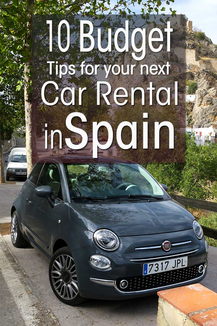 Tips For Renting A Car In Spain