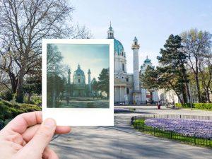 Polaroid Photo Tour Vienna Austria