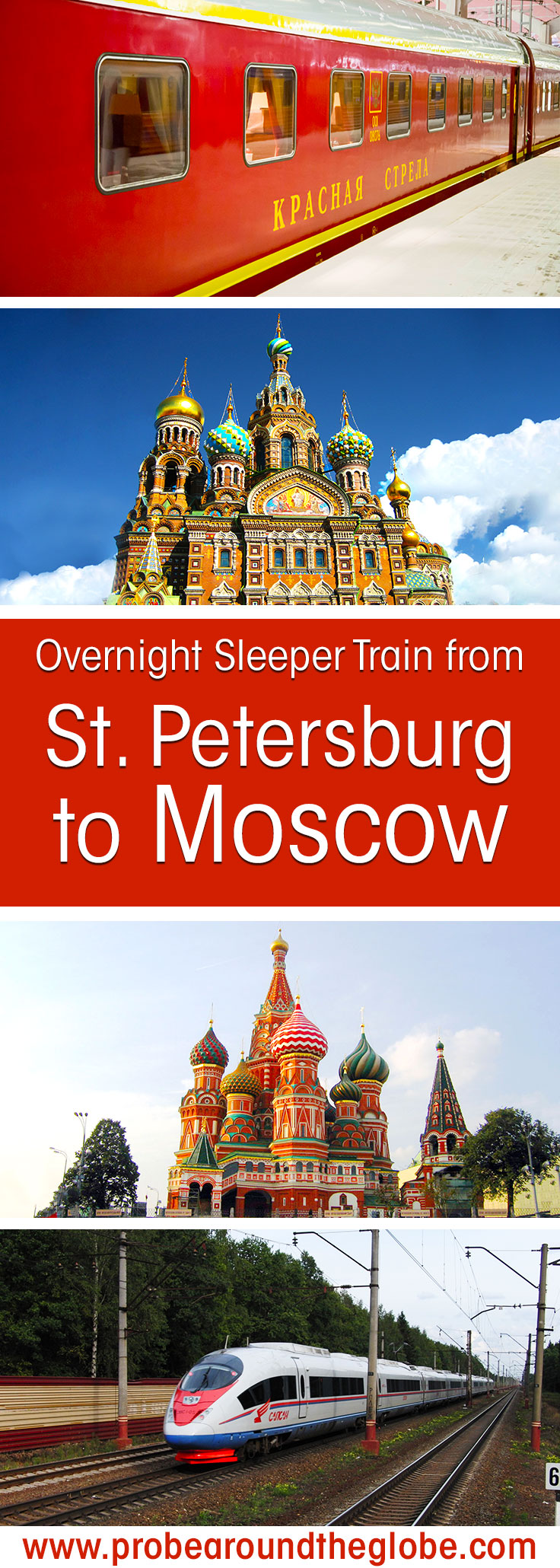 If you plan to visit Russia and see the biggest cities, you might want to consider the train from St. Petersburg to Moscow. Although flying is an option, the train is fast, comfortable and brings you to the heart of the city. Read here what it is like to travel on the overnight sleeper trains St. Petersburg to Moscow.